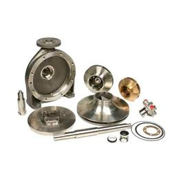 Spare parts like impeller, shaft, pump casing etc